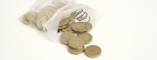 Pound Coins visualising financial planning