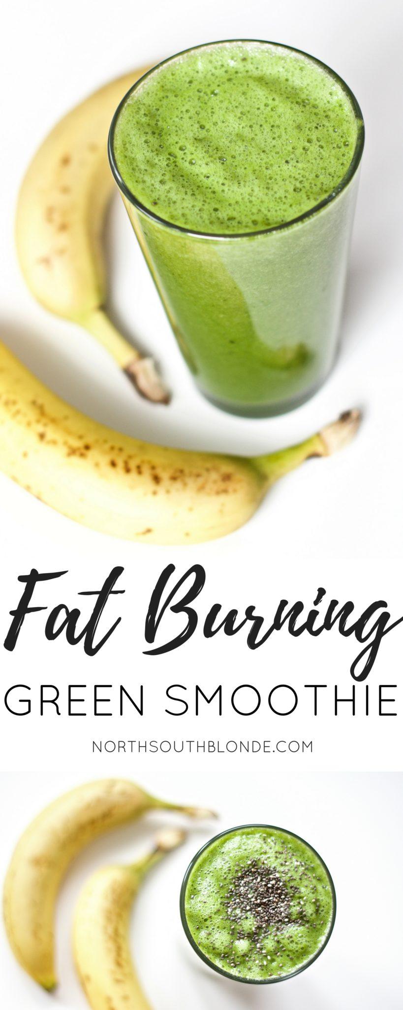 Fat Burning Green Smoothie