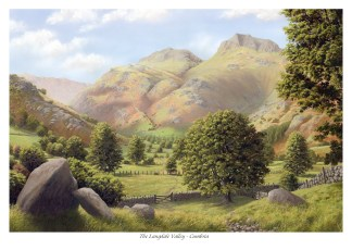 Langdale Valley New Cumbria