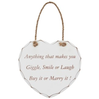 Anything that makes you giggle Plaque