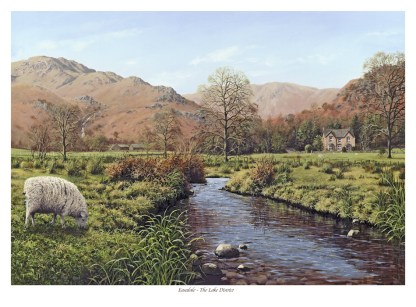 Easedale First Edition Print