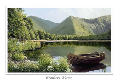 Brothers Water Greeting Card