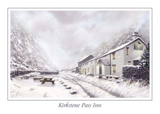 Kirkstone Pass Inn Greeting Card
