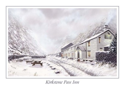 Kirkstone Pass Inn Greeting Card