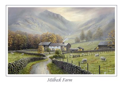 Milbeck Farm Greeting Card