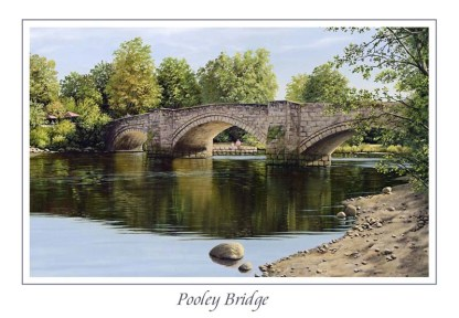 Pooley Bridge Greeting Card