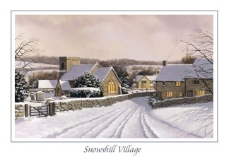 Snowshill Village Greeting Card