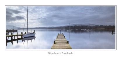 Waterhead Ambleside Greeting Card