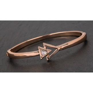 Rose Gold Plated Arrows Bracelet