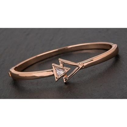 Rose Gold Plated Arrows Bracelet