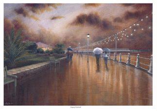 Torquay Promenade Limited Edition Print