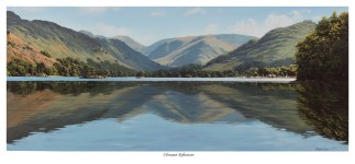 Ullswater Reflections Original Oil Painting