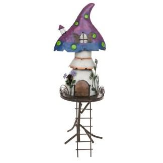 Secret Garden Mushroom Stilt House