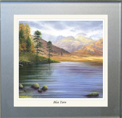 Blea Tarn Glass Coaster