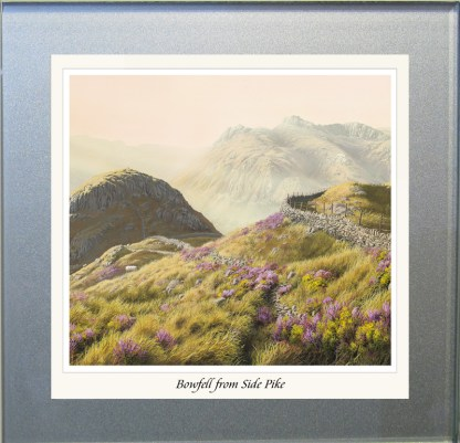 Bowfell from Side Pike Glass Coaster