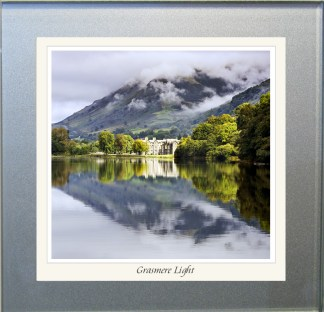 Photographic Glass Coaster - Grasmere Light