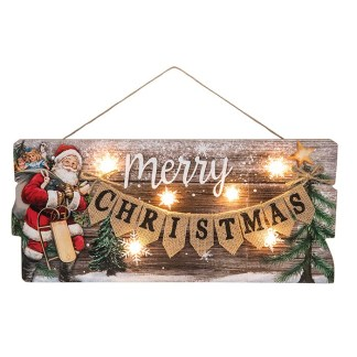 Christmas Light up Plaque