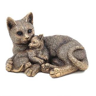 Bronzed Cat & Kitten
