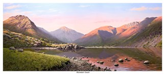 Wastwater Sunset First Edition