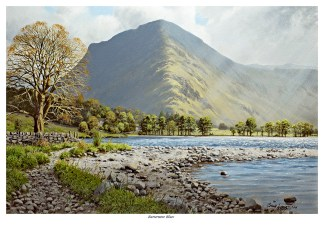 Buttermere Blues Limited Edition Print