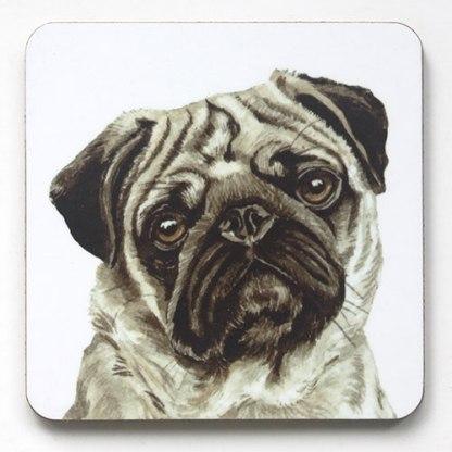 Pug Coaster
