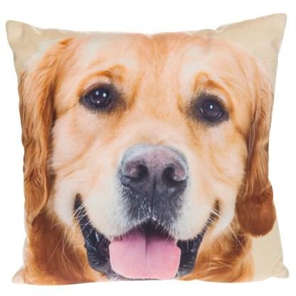 Golden Retreiver Mini Cushion