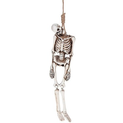 Funny Bones Skeleton with Noose