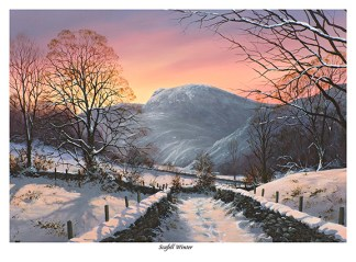 Scafell Winter Limited Edition Print