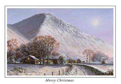 Winter at Great Gable Christmas Card