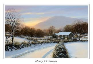 Winters Cloak Christmas Card