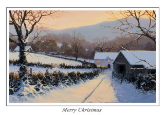 Winters Eve Christmas Card