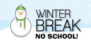 Winter Break February 19th – 23rd