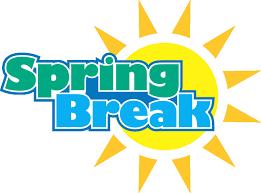 Spring Break (No School): March 26th – 30th