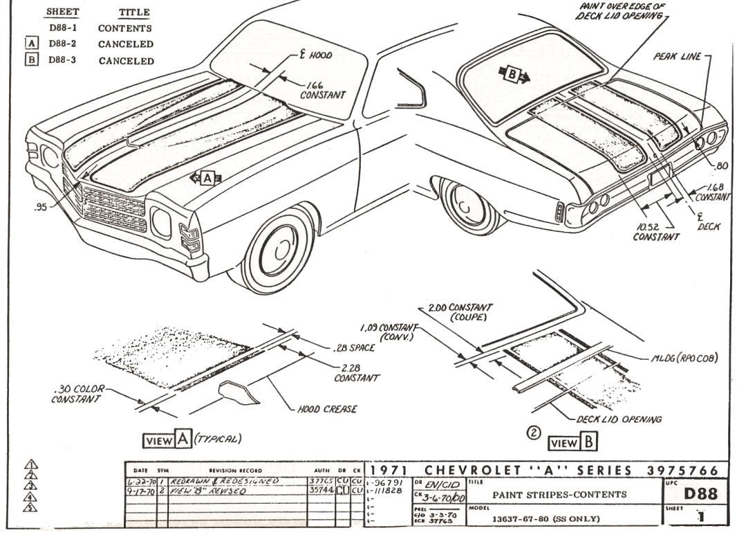 1966 chevelle engine wiring harness w hei