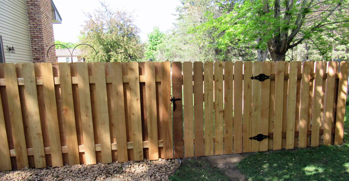 Wood Fence Privacy Fence Cedar Fence Fence Installation Mn