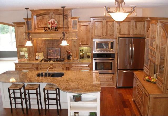 Natural Stone Kitchen Countertops  Northstar Granite Tops