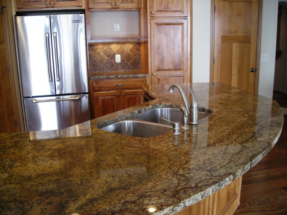 granite kitchen counters designer colors natural stone countertops northstar tops persian brown countertop