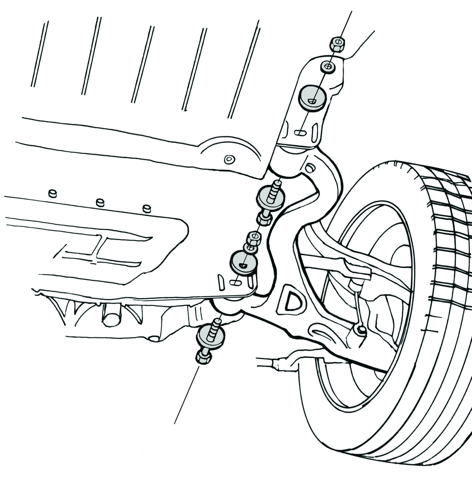 Service manual [How To Align Caster On A 2011 Jaguar Xf