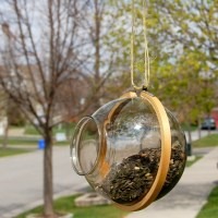 How to make a Bird Feeder with Upcycled items