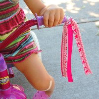 How to make your own bike streamers