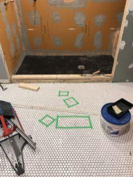 Bad hexagon tile job (6)