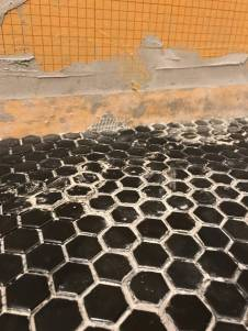 Bad hexagon tile job (7)