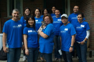 Our Nielsen Volunteer Angels for the Day