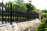 Wrought Iron Wall Top & Garden Railings | North Valley Forge