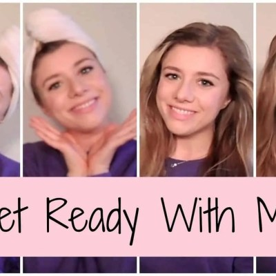 Get Ready With Me || Winter Face+Hair