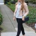 pink and grey - winter feminine neutrals