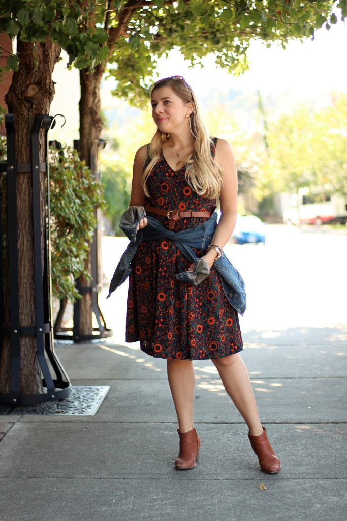 beat the heat fall fashion - end of summer styles - madewell ankle boots - the stockplace