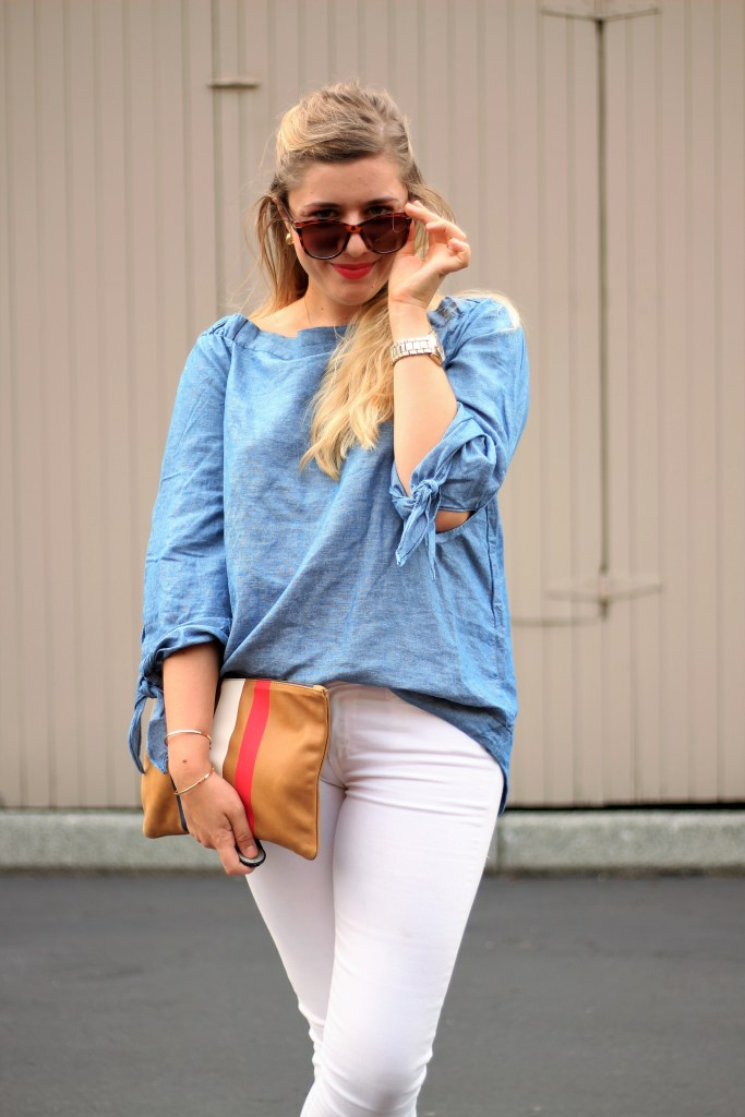 free people off the shoulder top - weekend casual