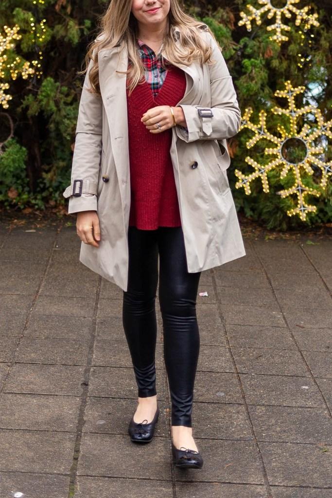 Commando Faux Leather Leggings Review Northwest Blonde
