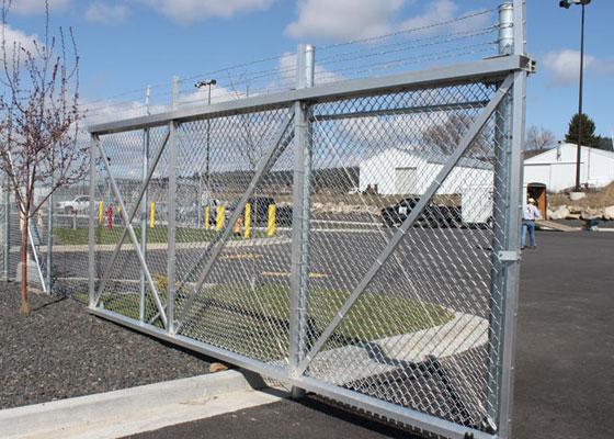 Aluminum Stronghold Cantilever Gates Northwest Fence Company